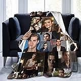 N \ A Tvd Jungen Flanell-Fleecedecke, leicht, superweich, warm, gemütlich, Wohnkultur für Couch, Bett, Sofa, Travel1370 cm