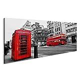 islandburner Bild Bilder auf Leinwand London Szene mit