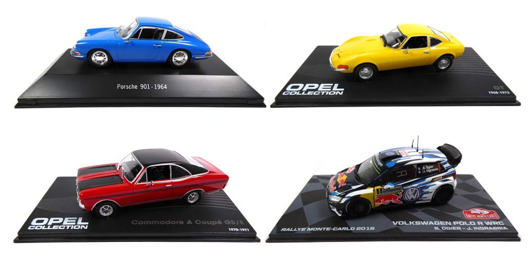 Eaglemoss / Norev Set of 4 1/43 Sports Cars: Porsche 901 + Polo R ...