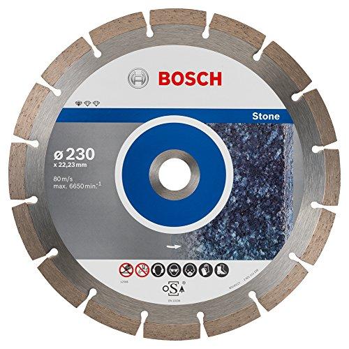 Bosch Professional 10 stuks diamantslijpschijven (voor graniet en natuursteen, Ø: 230 mm, accessoires voor haakse slijper)