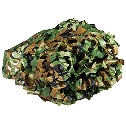Tentzeil jungle, modieus, camouflage-net, decoratie, zonwering, voor camping, buiten, verborgen bos, zonnescherm, fotografie, verschillende maten, optioneel (afmetingen: 3 x 4 m), camouflage, camouflage patroon 3*4m