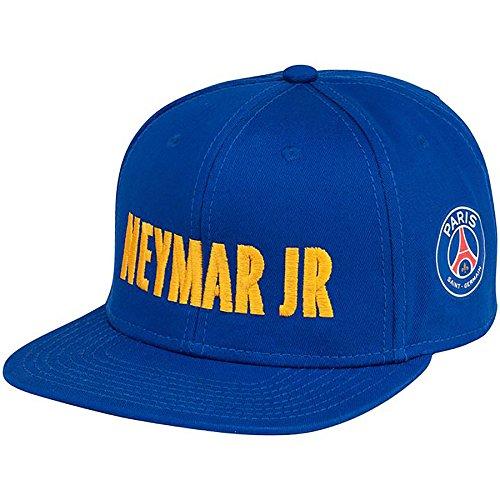 Flache Cap PSG–offizielle Kollektion Paris Saint Germain–Größe: Erwachsene