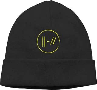 YGTRH 21 Pi-Lots Beanies Caps Unisex Soft Cotton Hedging Cap Black