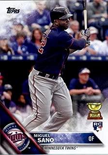 2016 Topps Variation #78 Miguel Sano Minnesota Twins Baseball Rookie Card-MINT