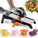 VEKAYA Adjustable Kitchen Vegetable Slicer