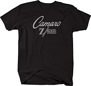 Camaro Z/28 Z28 Classic Look Chevy Racing Vintage Mens T Shirt