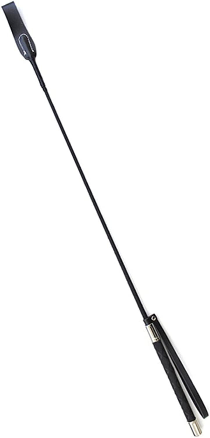 (Style C) - E-FirstFeeling Leather Long Whip Riding Crop