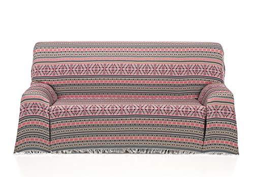 Cardenal Textil Azteca Foulard Multiusos, Fucsia, 180x290 cm