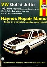H96017 Haynes VW Golf GTI Jetta 1993-1998 VW Cabrio 1995-2002 Auto Repair Manual