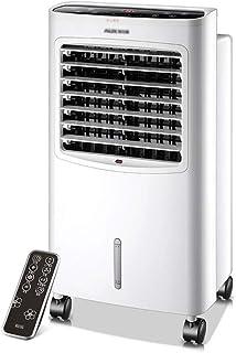 Aires acondicionados Climatizador Evaporativo Mini Enfriador De Aire Acondicionado Humidificador Portátil Climatizador Evaporativo (Color : Blanco, Size : 38 * 30 * 73.5cm)