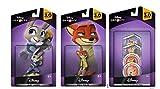 Disney Infinity 3 Zootopia Themed Bundle Judy Hopps Nick Wilde Zootopia Disk Pack