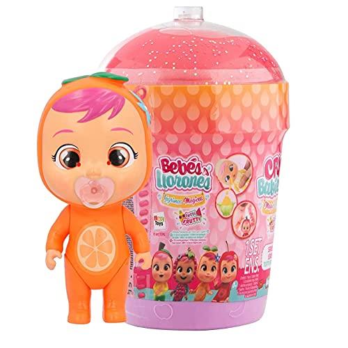 Bebés Llorones Lágrimas Mágicas Casita Tutti Frutti Mini muñeca sorpresa coleccionable con olor a fruta, juguete niña y niño +3 años, Modelos Surtidos
