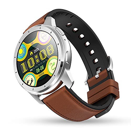 LSQ 2021 Best SmartWatch MX11 Bluetooth Llamada de Bluetooth 260MAH Batería Bluetooth Bluetooth Reproducción Pareja Reloj Fitness PK GT2,B