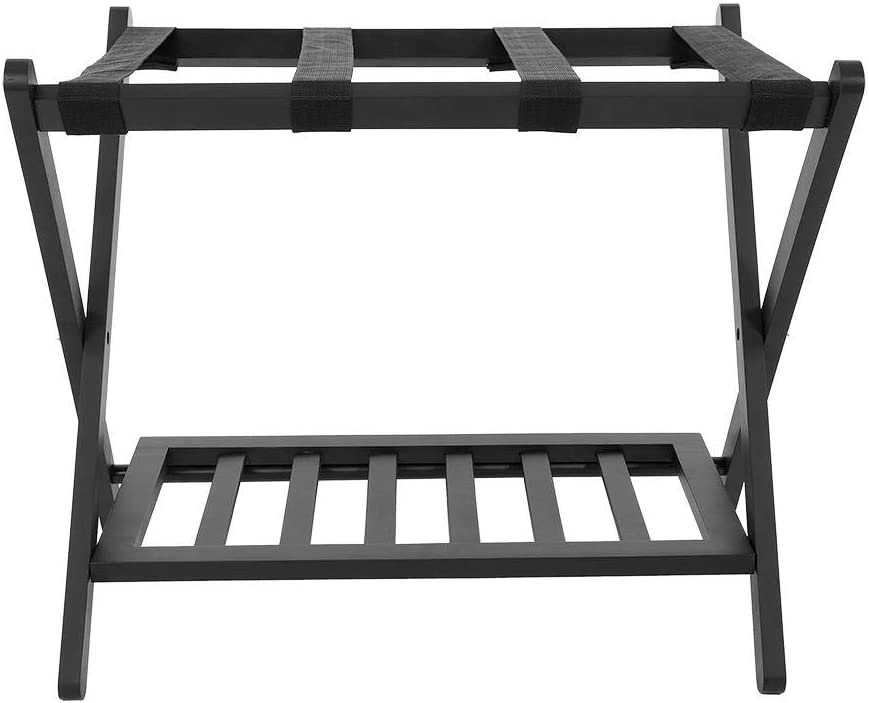 YJZO New popularity Folding Quality inspection Luggage Rack Su Wooden Tiers Double