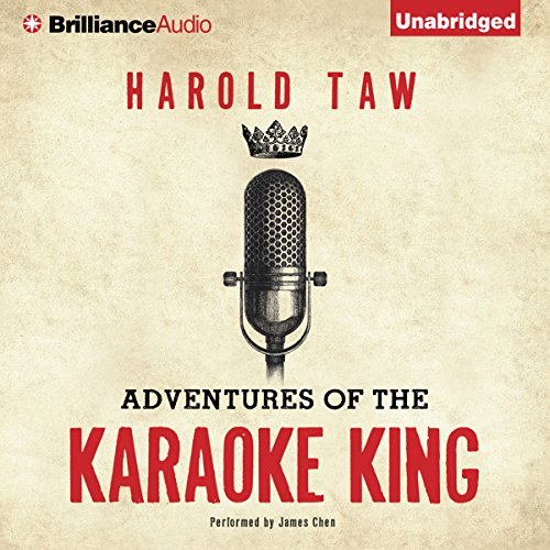 Adventures of the Karaoke King audiobook cover art
