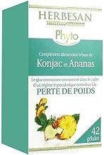 Herbesan Glucomannane de Konjac Perte de Poids 42 gA lules Estimated Price : £ 13,37