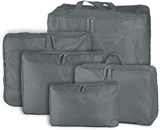 G4U 5pcs Gray Travel Bag Organizer