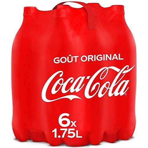 COCA-COLA - Original Pack De 6X1.75L - Livraison Gratuite - Prix Par Unité