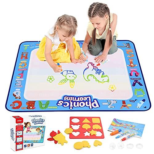 dmazing Spielzeug ab 2 3 4 5 6 Jahre Mädchen, Aqua Doodle Baby Spielzeug 12-18 Monats Ostern Geschenke für Jungs 3-12 Jahre Kinderspielzeug Geschenk Mädchen 4-10 Jahre...