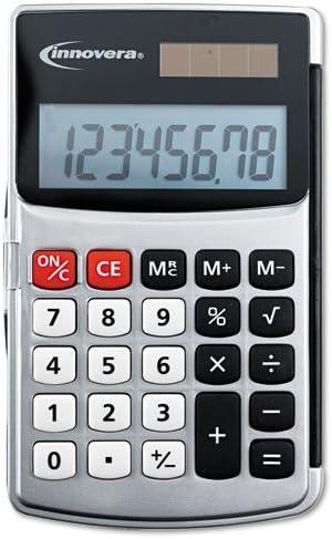 Innovera : Boston Mall Handheld Calculator Courier shipping free Hard Flip Case Eight-Digit Dua