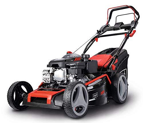 scheppach Benzin-Rasenmäher MS173-51E - 4.5PS | 510mm Schnittbreite | E-Start | Radantrieb | Schnitthöhenverstellung