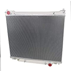 ★ 3 ROW ALUMINUM RADIATOR!- The OzCoolingParts Radiator is made of full aircraft 5057 grade aluminum and with raw aluminum finish, all item is 100% inspected and tested for quality assurance. ★ EXTRA HIGH COOLING CAPACITY! - High performance racing d...