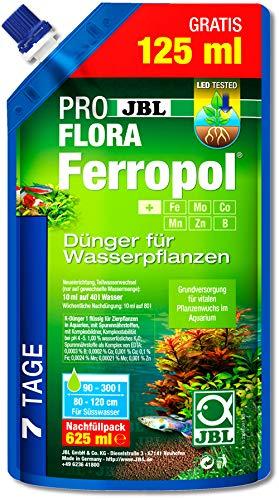 JBL- Ferropol Nachfüllpack 625ml - Pflanzendünger Aquarium Pflanzen Dünger (21,58 € /L)