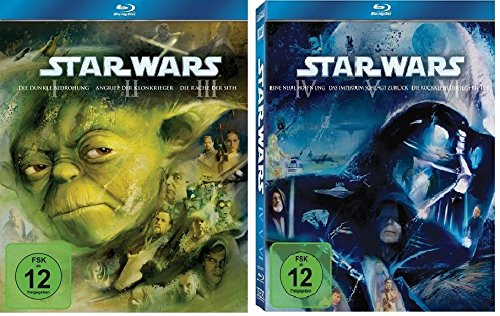 Blu-ray Set Star Wars: The Complete Saga I-VI (1+2+3+4+5+6)