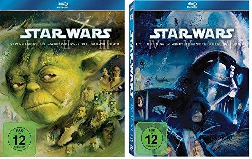 Blu-ray Set Star Wars: The Complete Saga I-VI (1+2+3+4+5+6)