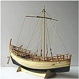 WENJZJ Barco Antiguo de Grecia, Modelo Retro de Madera, 1/43, Kit de...