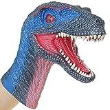 Lebze Burattino di Mano Velociraptor Dinosauro Action Figure...