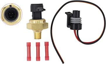NewYall Exhaust Gas Back Feedback Pressure EBP Sensor for 7.3L Powerstroke Diesel