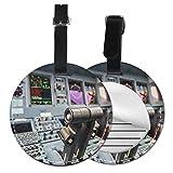 Bagages Étiquettes Commandes de Cockpit du simulateur de vol Jumbo Jet, Étiquettes Valise, Accessoires Voyage