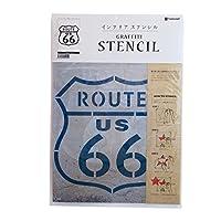 グラフィティーステンシル 「ROUTE 66」 SS-03