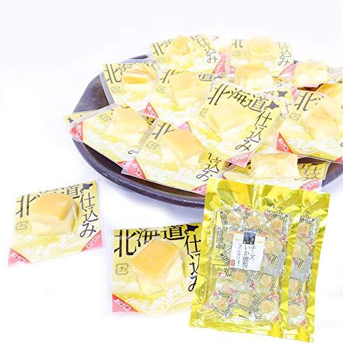 北海道名産 チーズいか燻製 チーズ おつまみ 個包装 チャック付き 90g×2パック