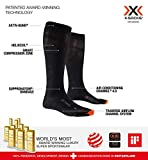 X-Socks Air Travel Helix Calcetines Funcionales para Hombres Y Mujeres, Unisex Adulto, Black, 39/41