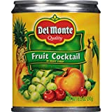 Del Monte Canned Fruit Cocktail in Heavy Syrup, 8.5 Ounce (Pack of 12)