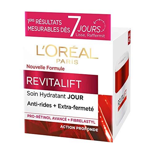 L Oréal Paris - Revitalift - Soin Jour Hydratant - Anti-Rides & Extra-Fermeté - Anti-Âge - 50 mL