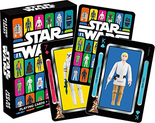 Star Wars Vintage Kenner Action Figures Playing Cards