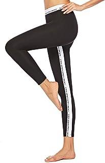 70aa9933c38478 ♫Righe Skinny Sportivi leggings donna♫xinxinyu push up Fitness Sexy  Allenamento donne Stampa Capri