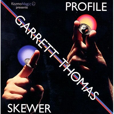 Profile Skewer (DVD and Gimmick) by Garrett Thomas and Kozmomagic - DVD