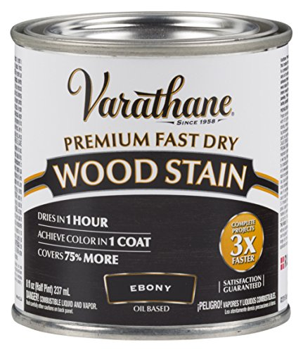 Varathane 269400 Premium Fast Dry Wood Stain, Half Pint,...