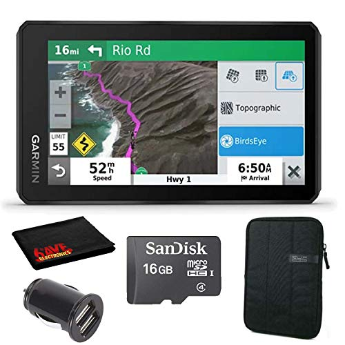 Great Price! Garmin Zumo XT 5.5 Motorcycle Navigator with 16GB microSDHC Card, Protective Sleeve, 2...