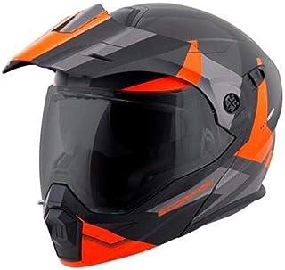 Scorpion EXO-AT950 Cold Weather W/Dual Pane Shield Bike Motorcycle Helmet - Orange/Large
