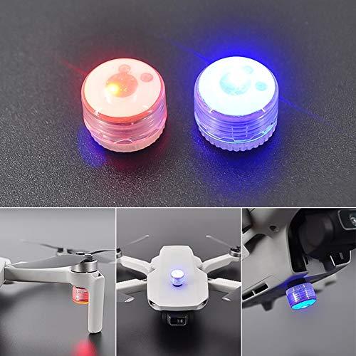 Yiran Drohne, LED, Blitzlampe für DJI Mavic Mini RC Drohne, Blitzlicht, Nachtnavigation, Signal, Quadcopter, Lampe mit Batterie, kratzfest, Warnung, leichte Ersatzteile für DJI Mavic Mini