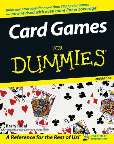Card Games For Dummies (English Edition)