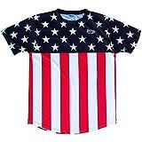 Estados Unidos ultras fútbol Jersey de rayas y estrellas