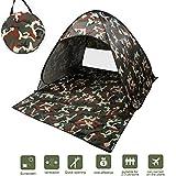 NICEAO Wurfzelt / Strandmuschel, Tragbares Campingzelt, schneller Aufbau, als Unterstand beim...