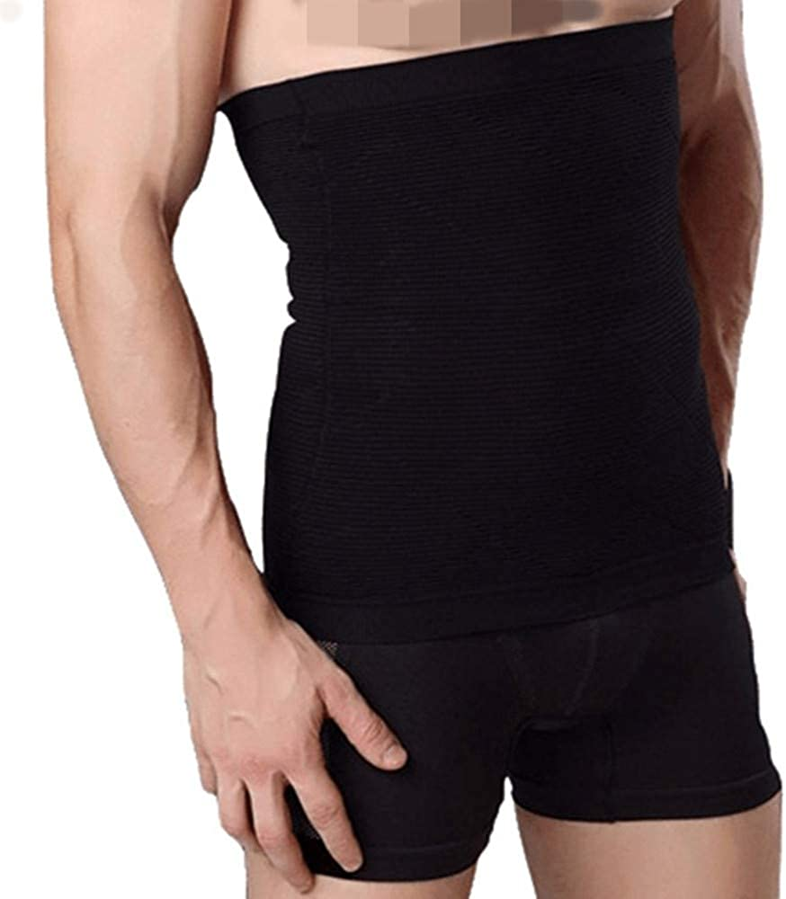 Tfscloin Men's Waist Recommended Trainer Tummy Sport Control Belly Belt Translated Shap