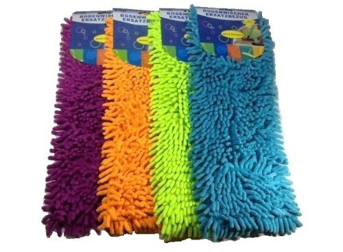 3 x Microfaser Ersatzbezug + 6 Tücher Mikrofaser Wischmop Bodenwischer Wischtuch (3er Pack + Gratis Tücher)
